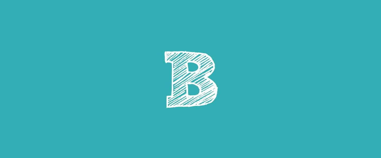 B (letter)