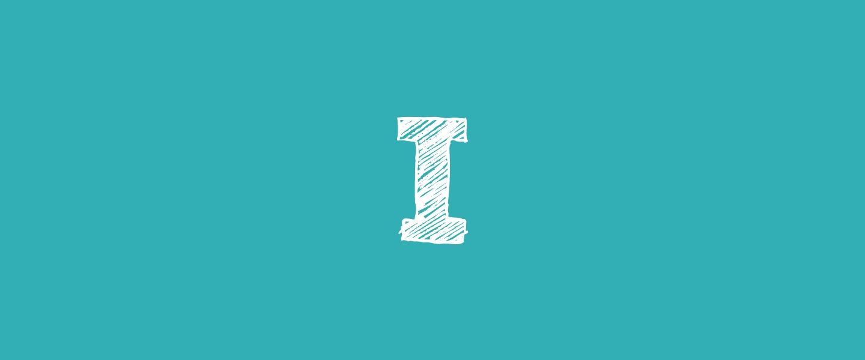 I (letter)