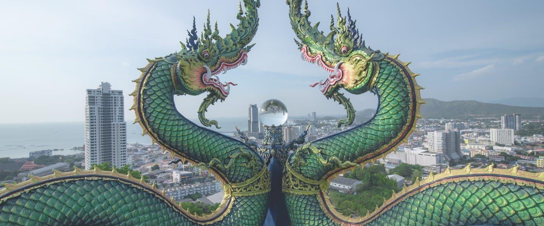 green dragons buildings