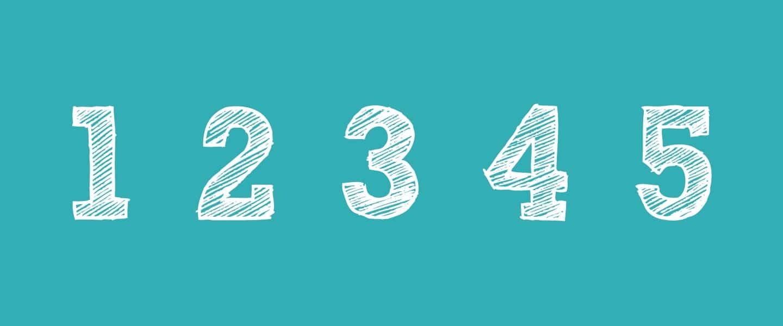 nummers, cijfers, getallen