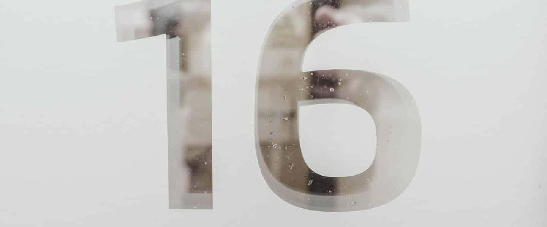 16 of zestien
