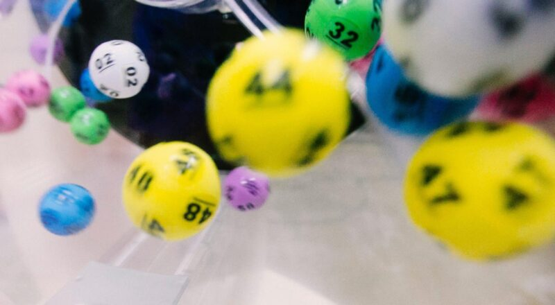 ball with number lot