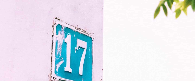 17 of zeventien